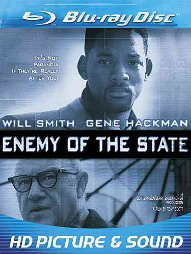 ENEMY OF THE STATE BY SMITH,WILL (Blu-Ray)